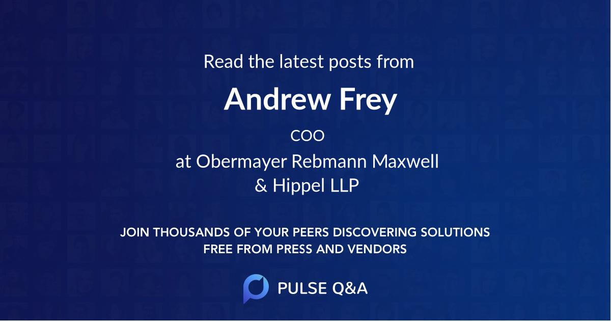 Andrew Frey