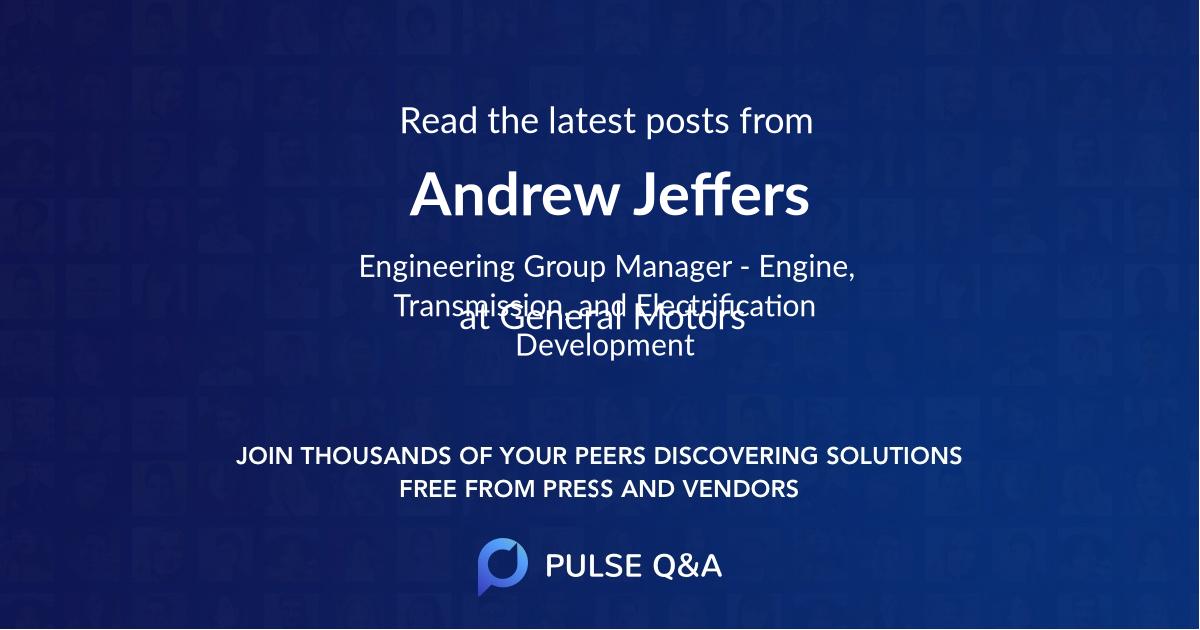 Andrew Jeffers