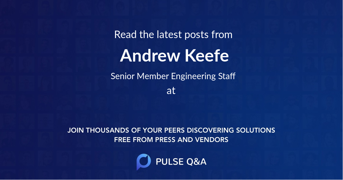 Andrew Keefe