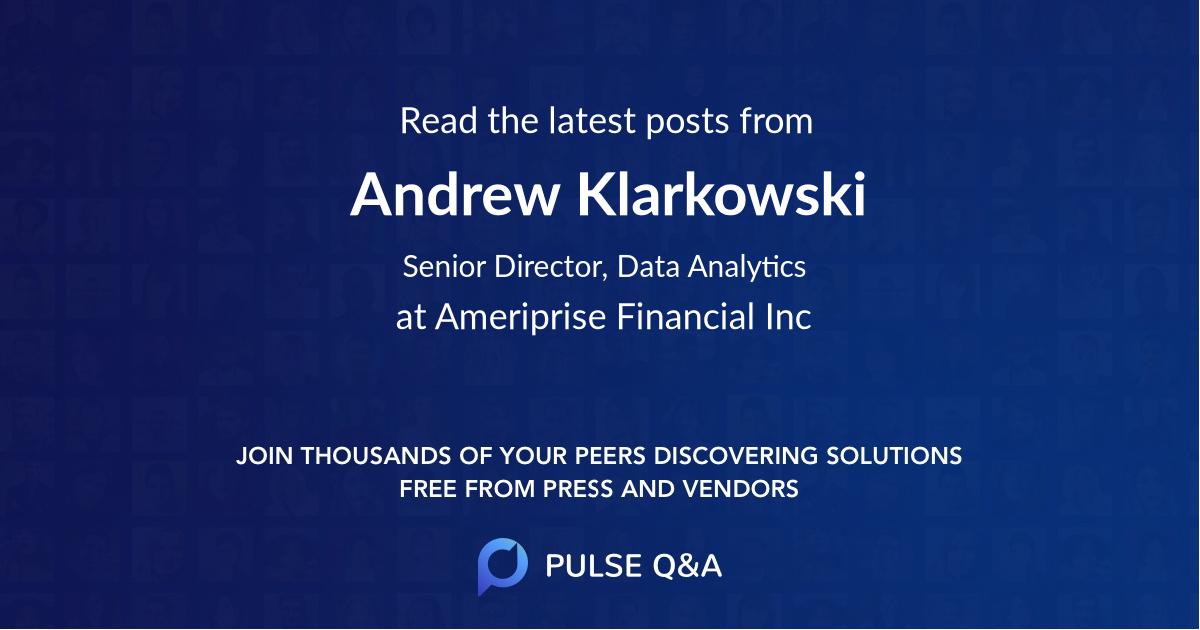 Andrew Klarkowski