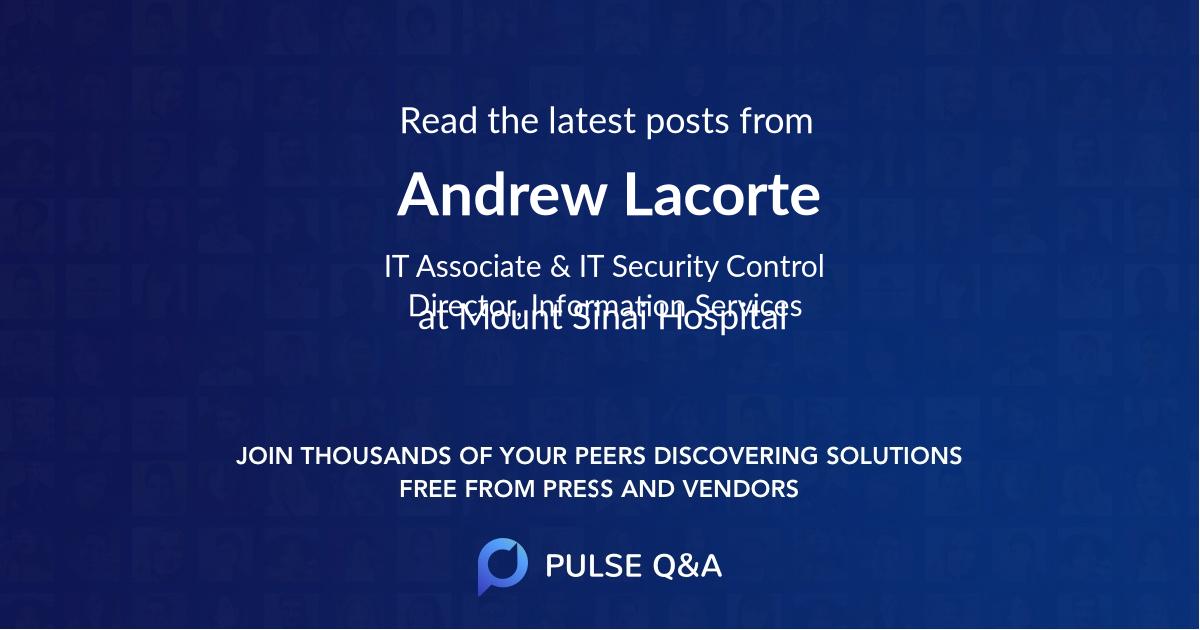 Andrew Lacorte