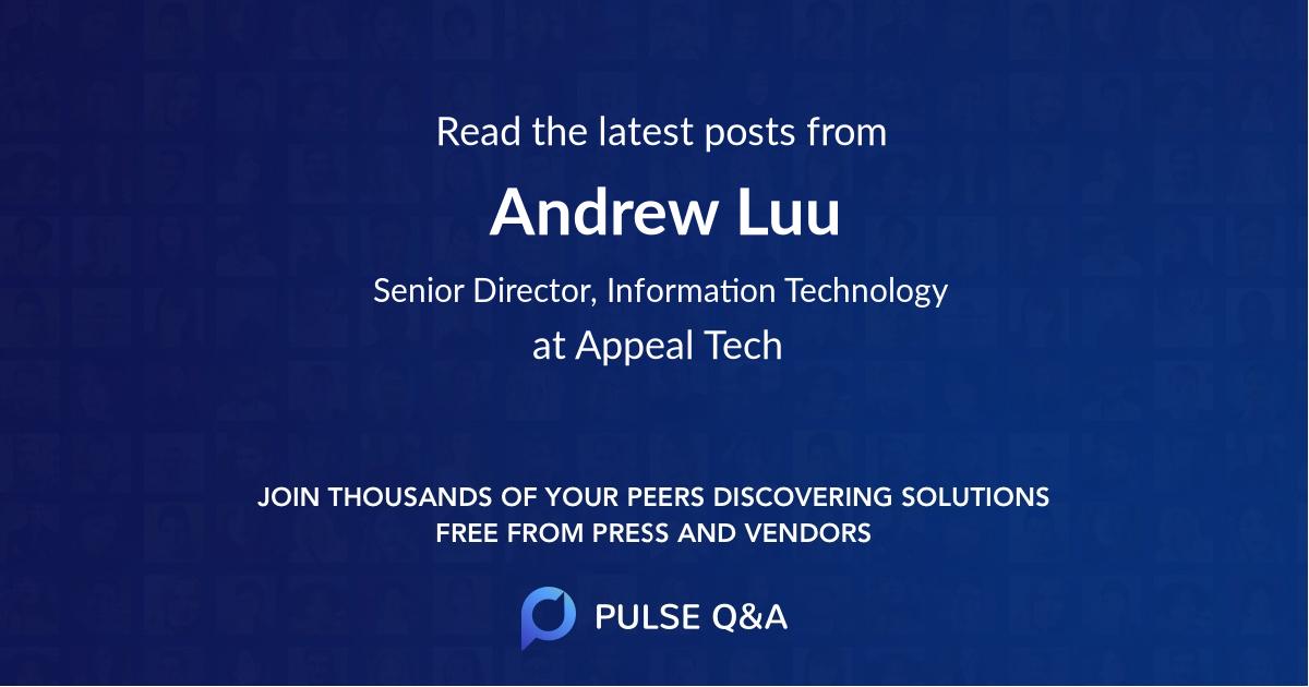 Andrew Luu