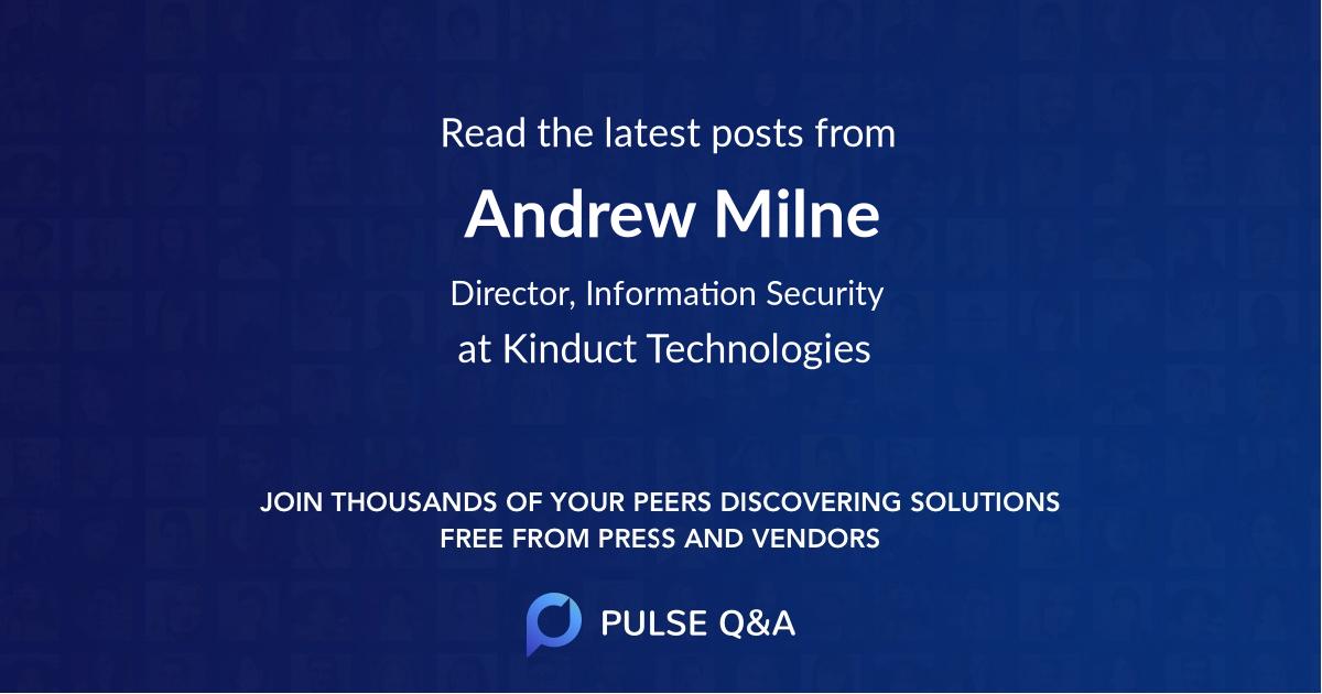 Andrew Milne