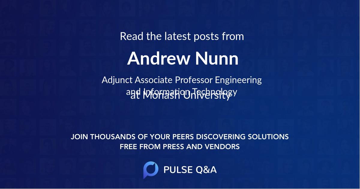 Andrew Nunn