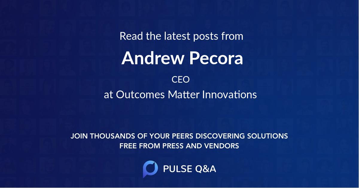Andrew Pecora