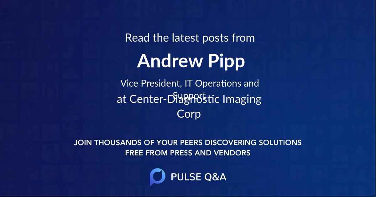 Andrew Pipp