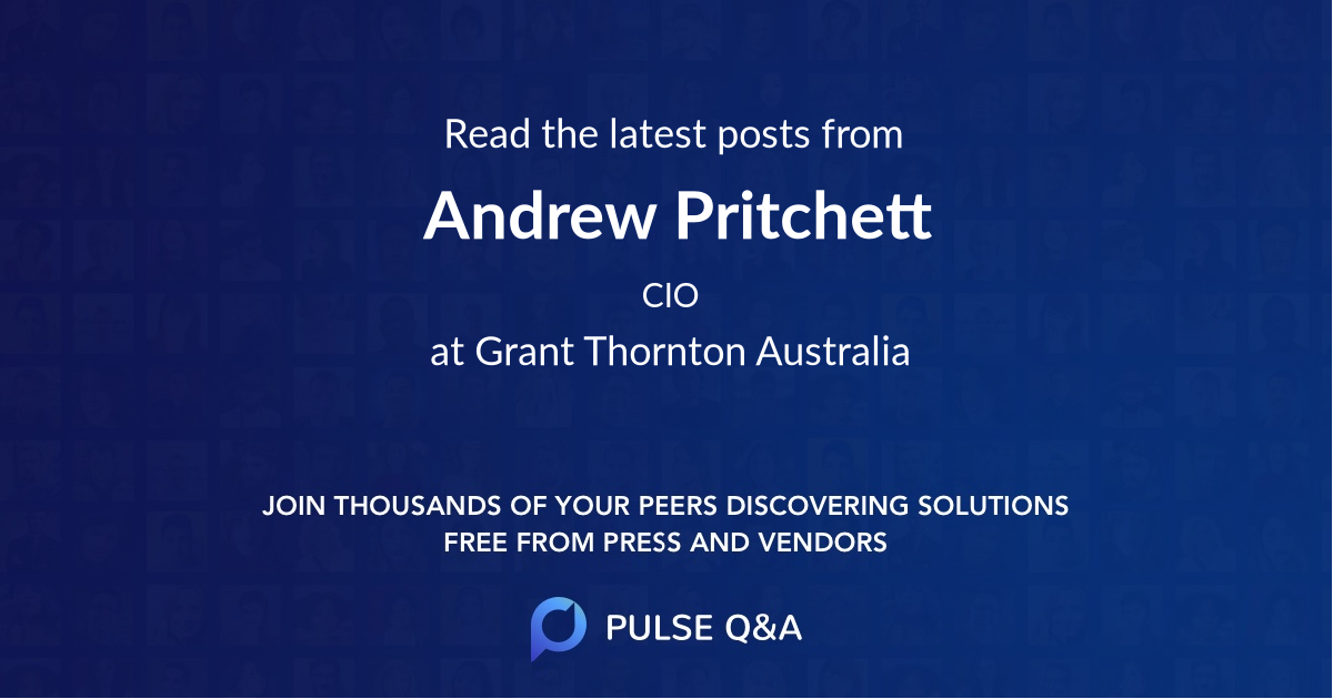 Andrew Pritchett