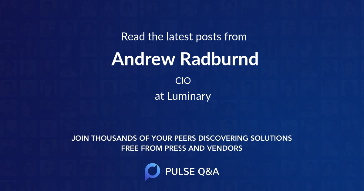 Andrew Radburnd