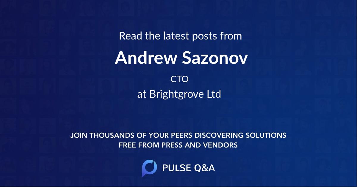 Andrew Sazonov