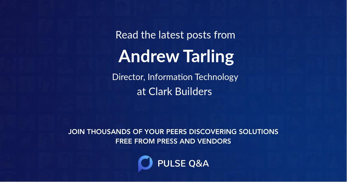 Andrew Tarling