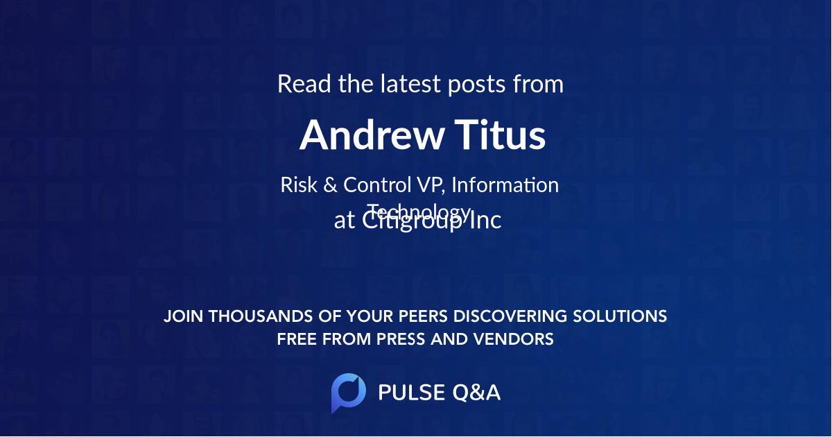 Andrew Titus