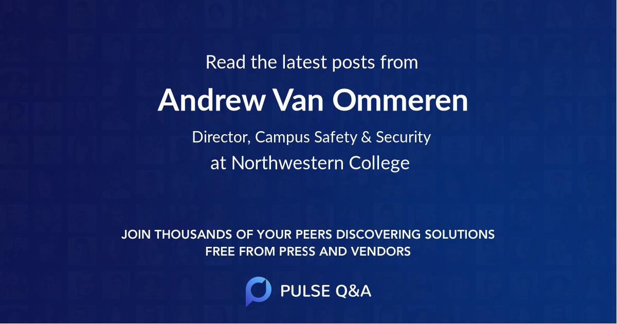 Andrew Van Ommeren