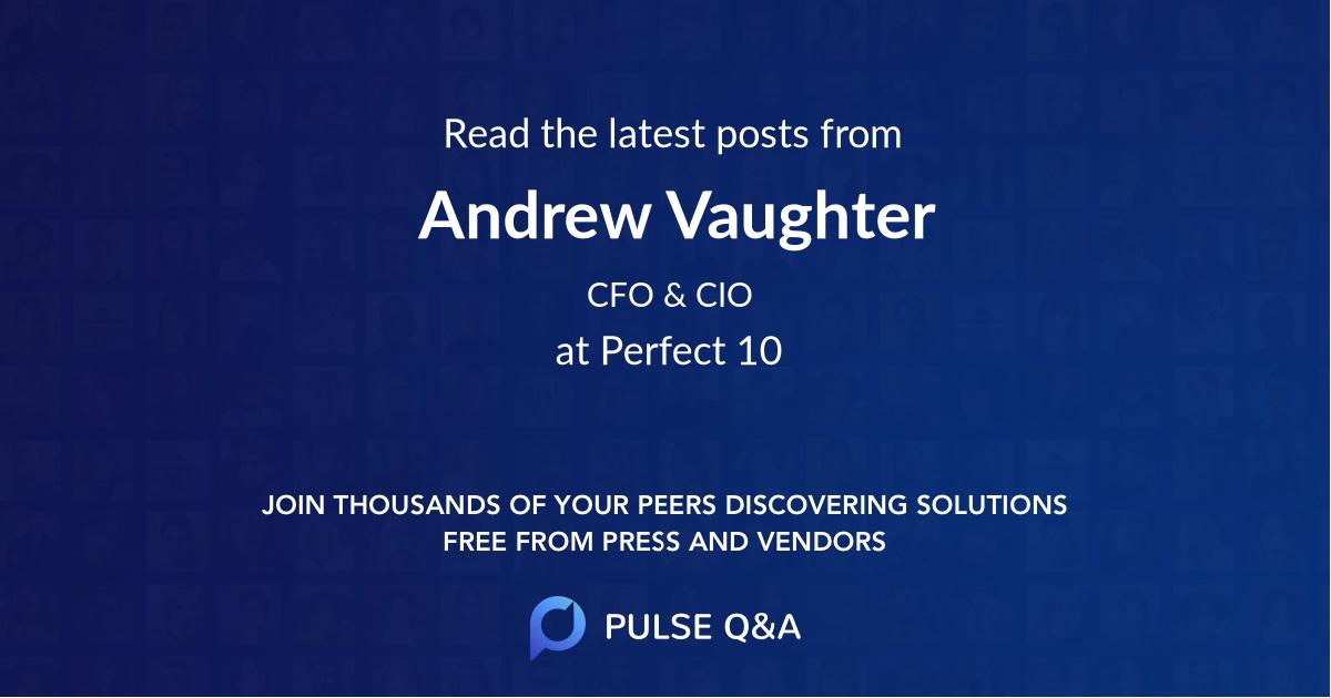 Andrew Vaughter