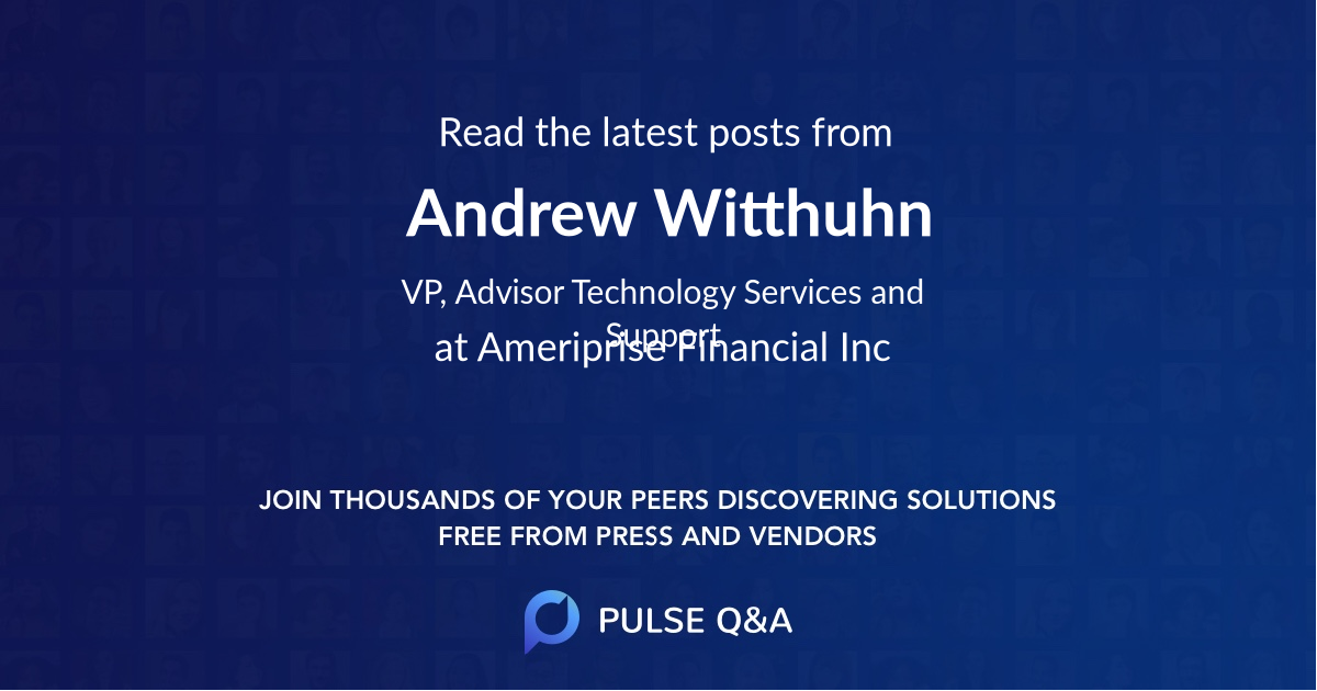 Andrew Witthuhn