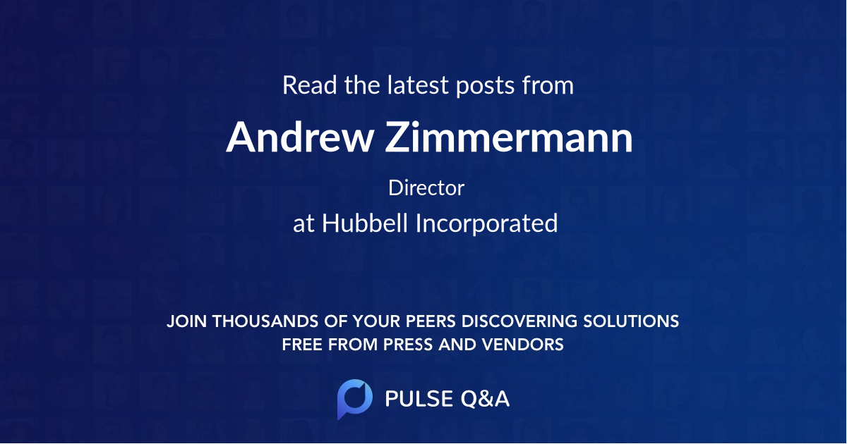 Andrew Zimmermann
