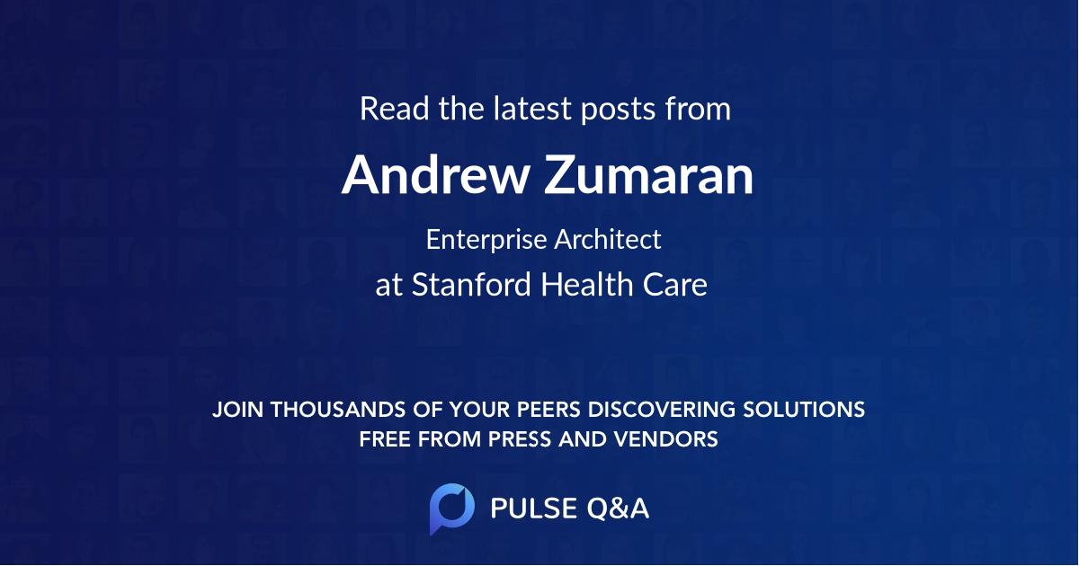 Andrew Zumaran