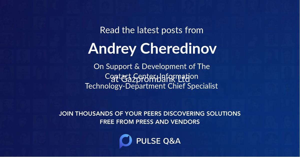 Andrey Cheredinov