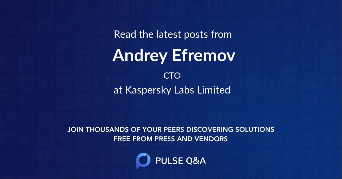 Andrey Efremov