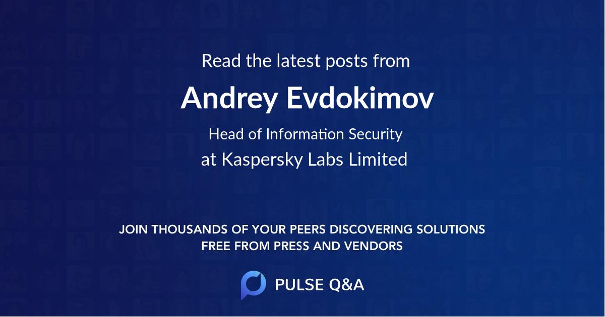 Andrey Evdokimov