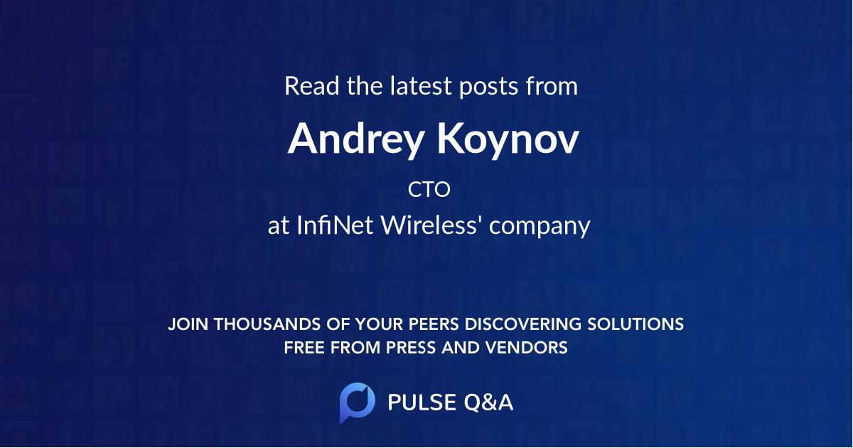 Andrey Koynov