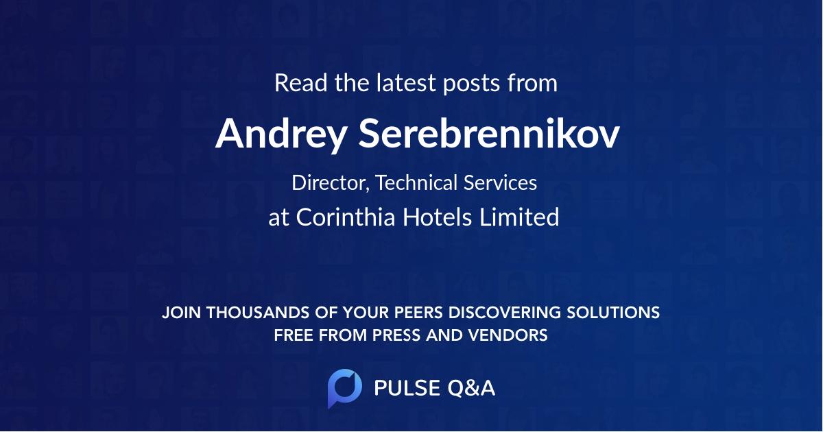Andrey Serebrennikov