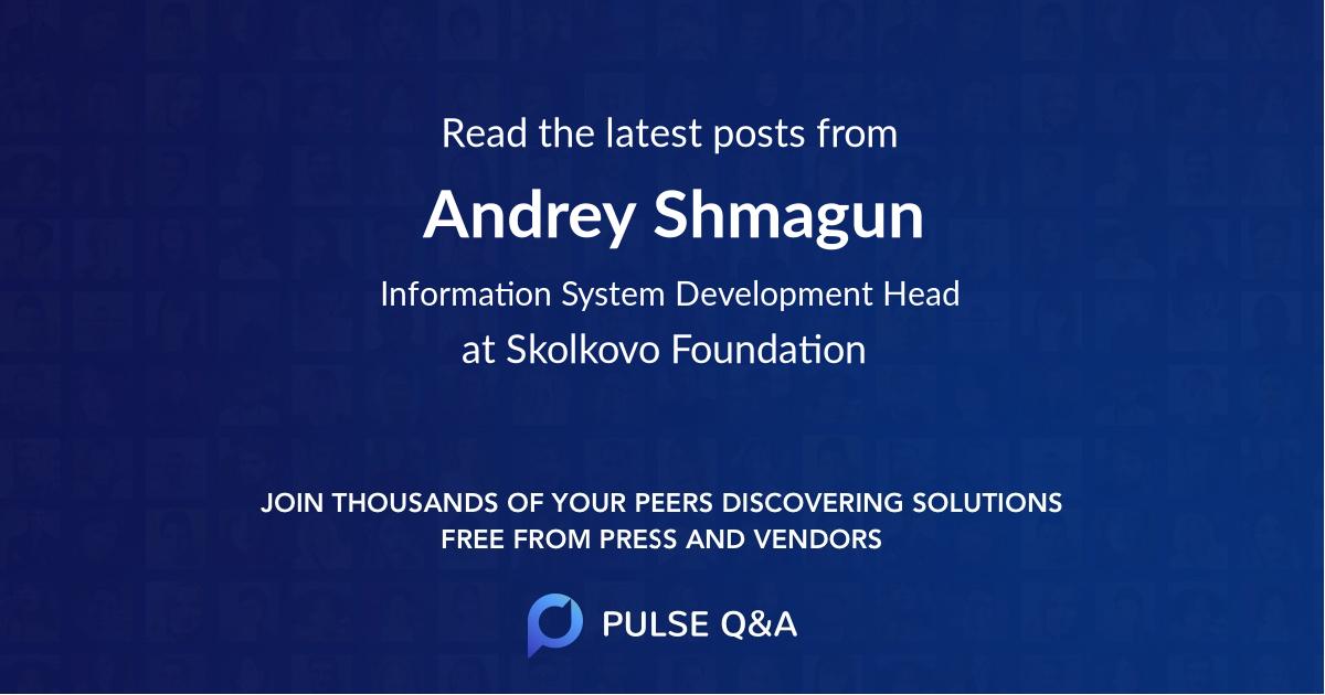 Andrey Shmagun
