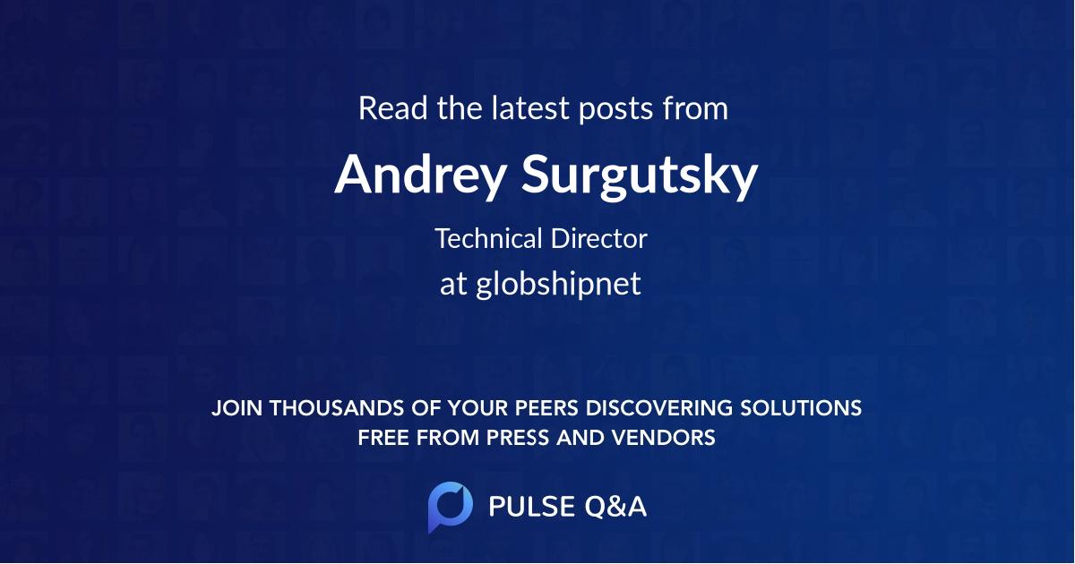 Andrey Surgutsky