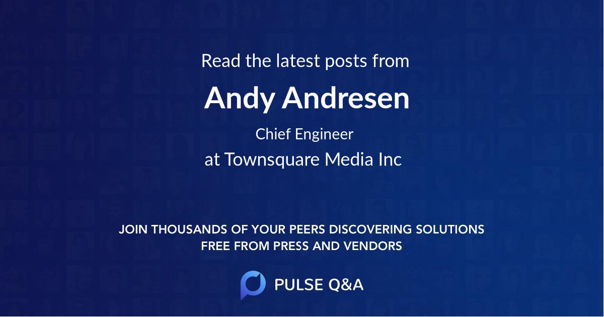 Andy Andresen