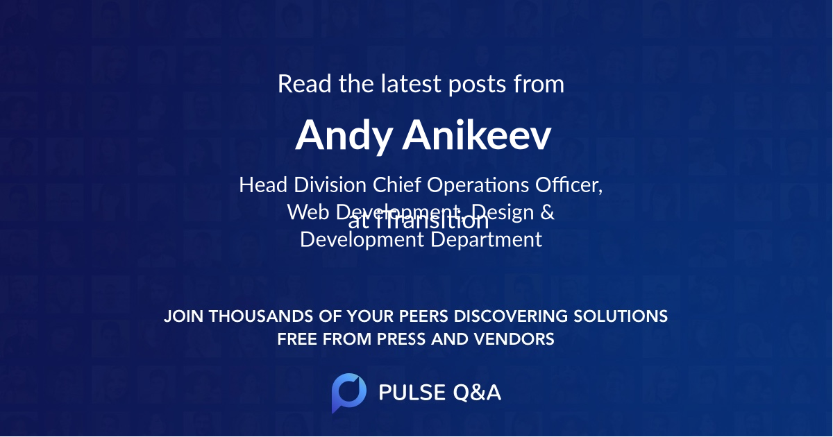 Andy Anikeev