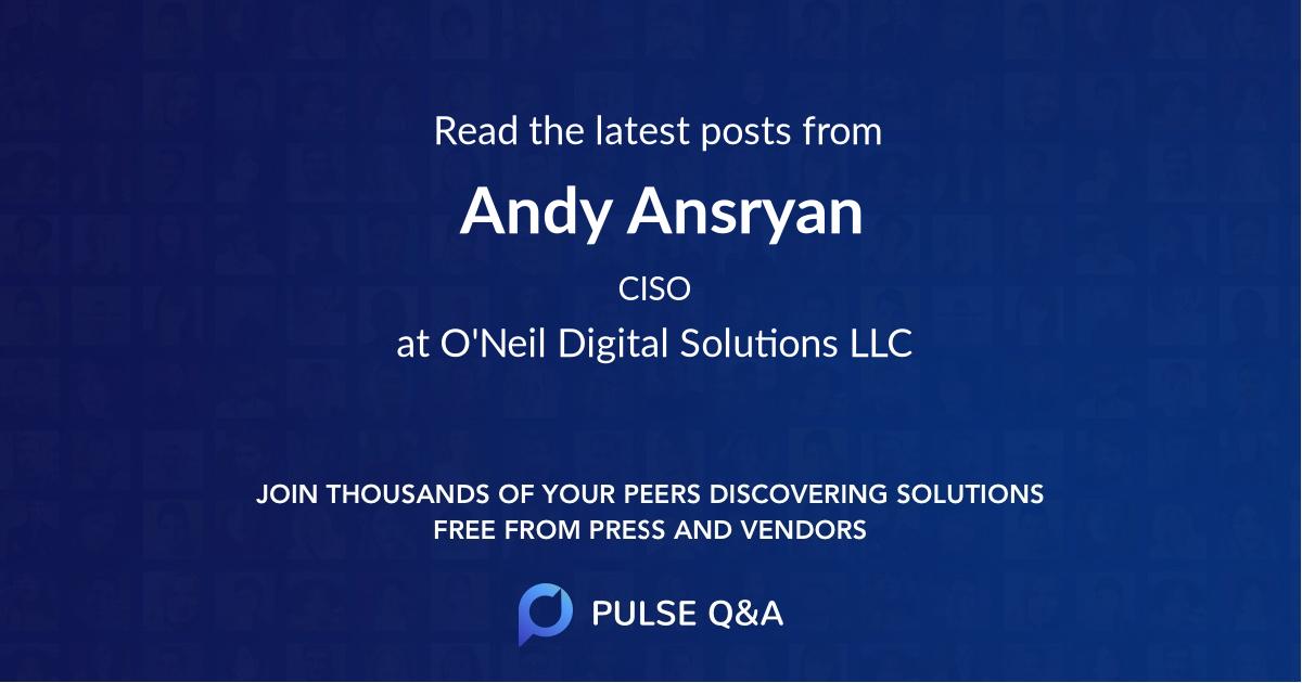 Andy Ansryan