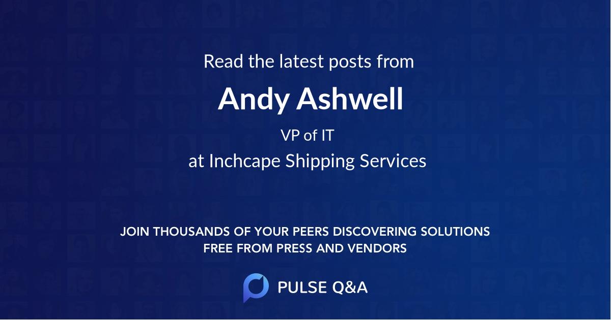 Andy Ashwell