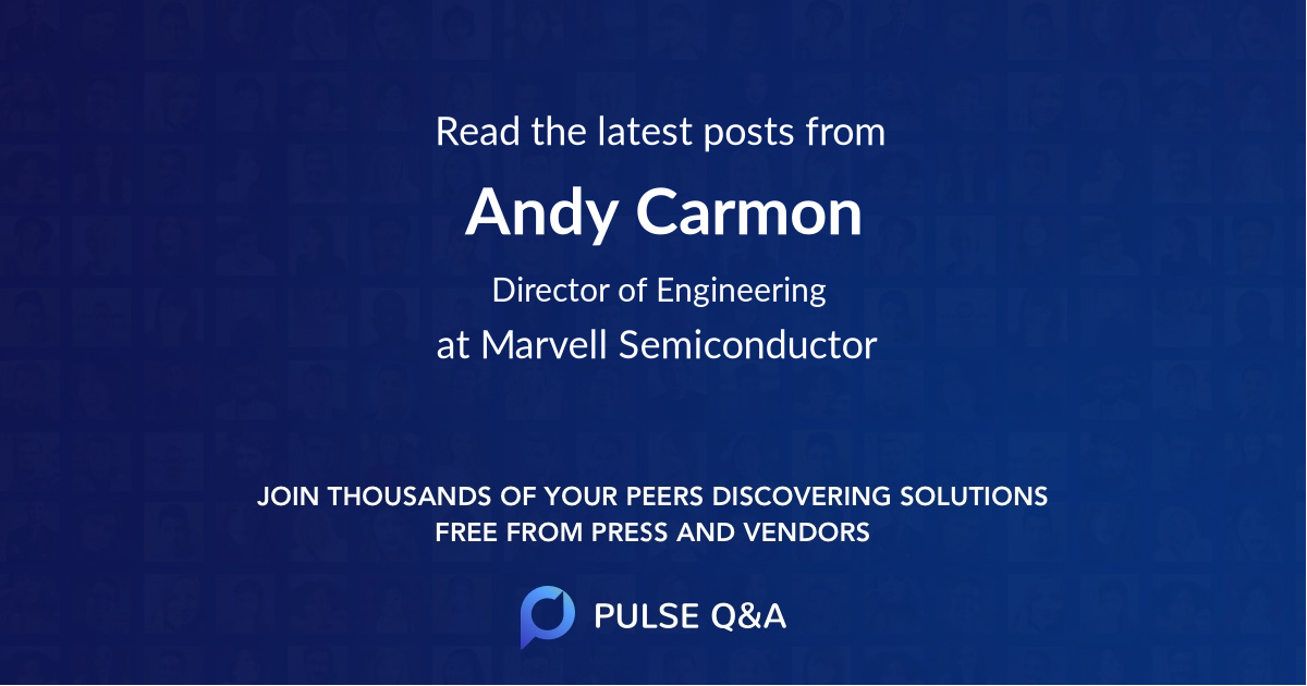 Andy Carmon