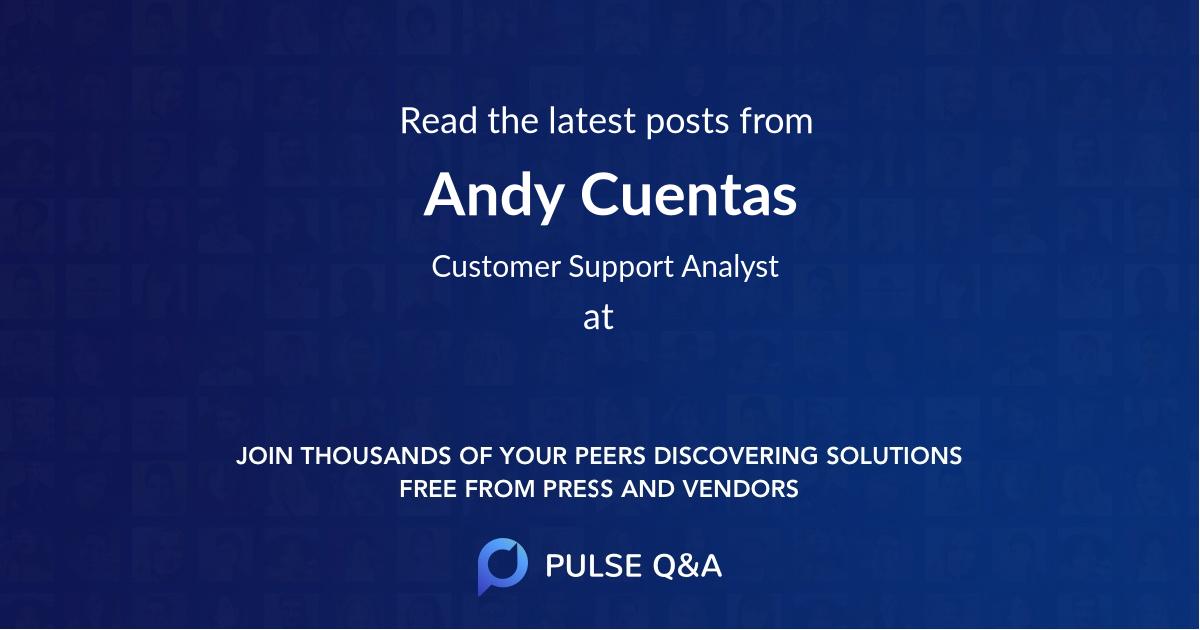 Andy Cuentas