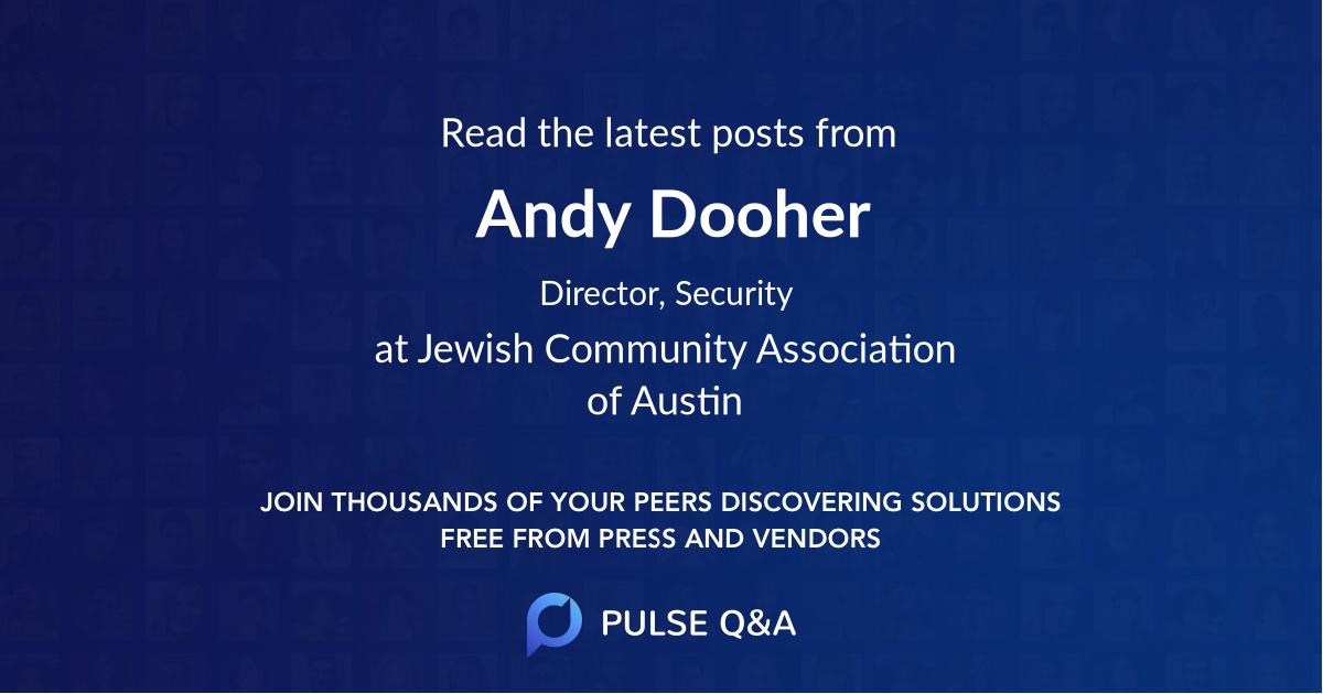 Andy Dooher