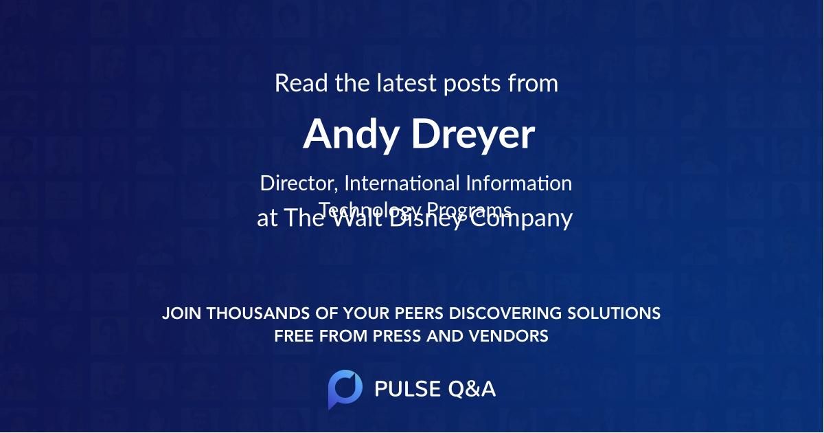 Andy Dreyer