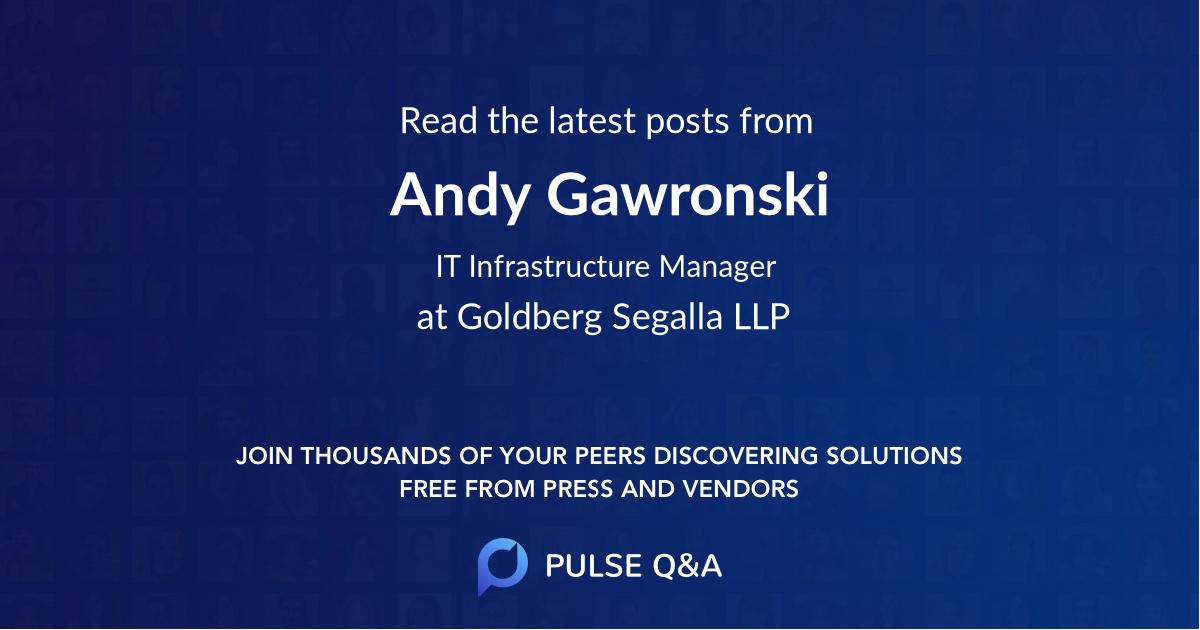 Andy Gawronski