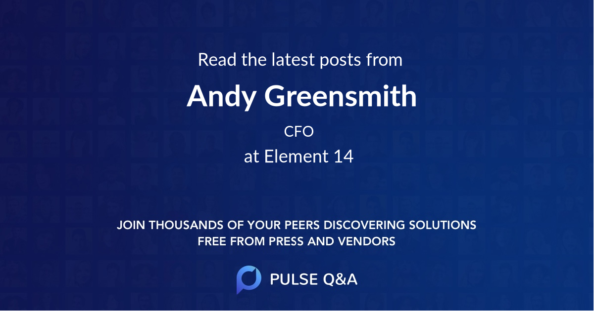 Andy Greensmith