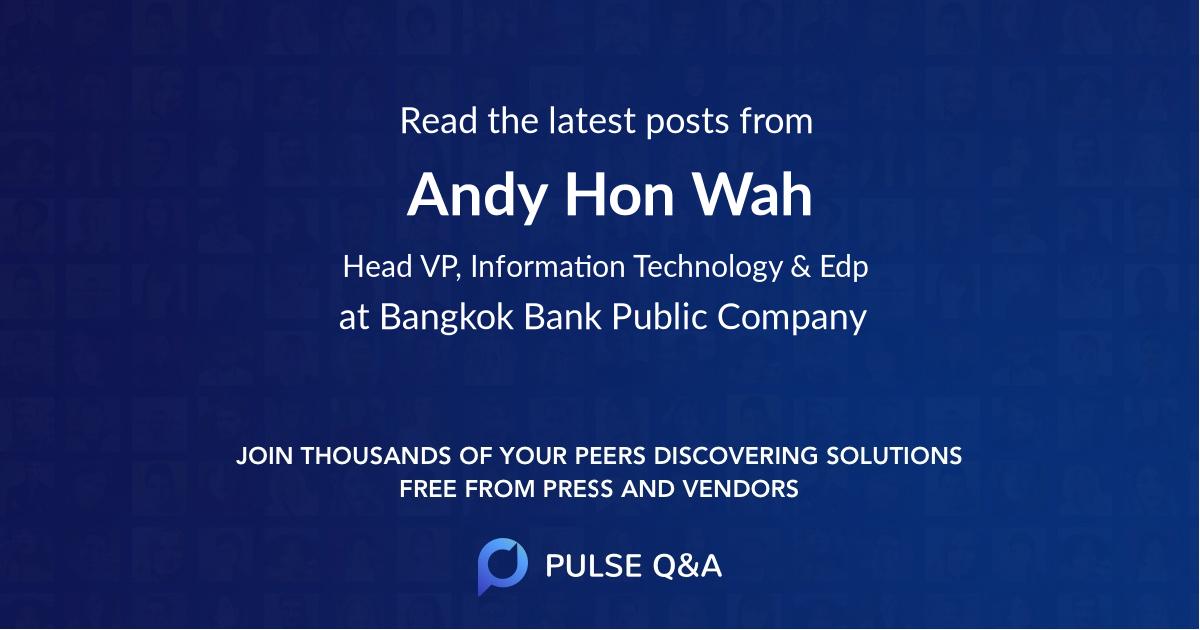 Andy Hon Wah