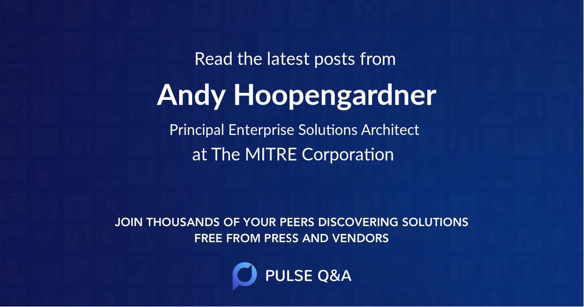 Andy Hoopengardner