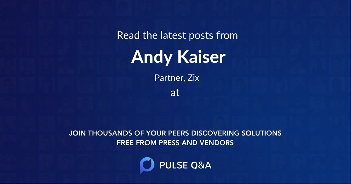 Andy Kaiser
