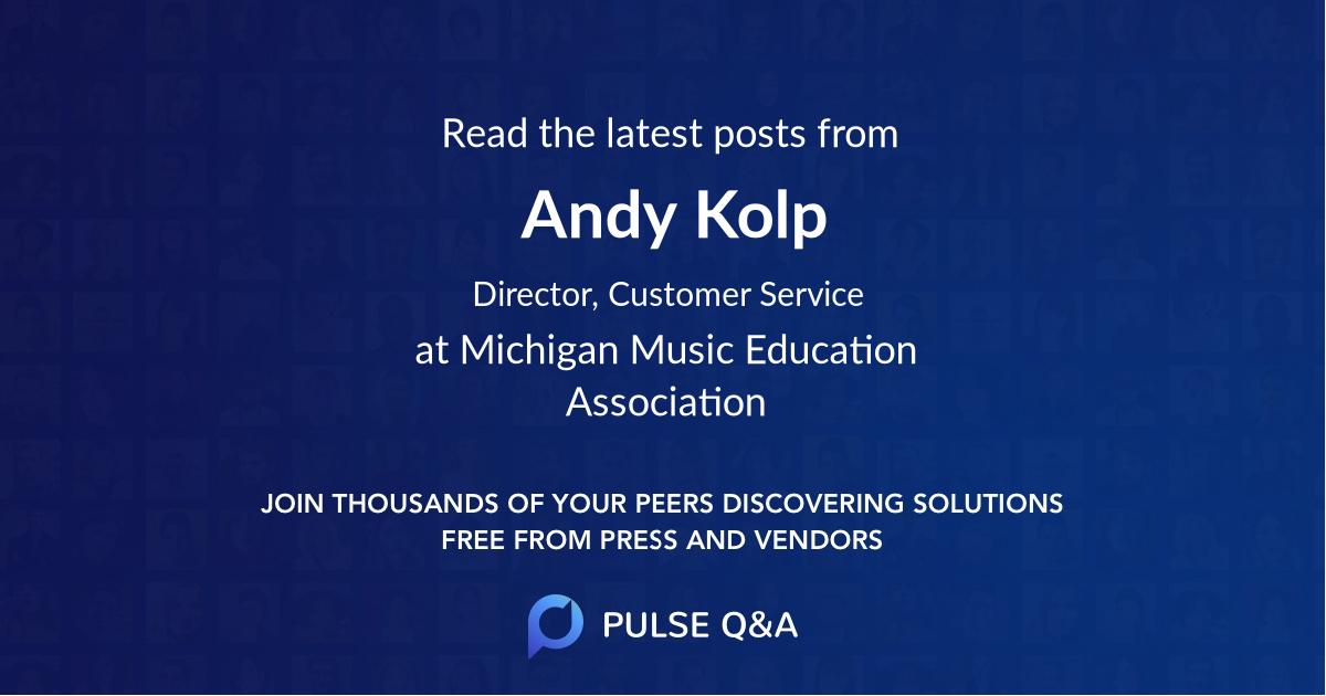 Andy Kolp