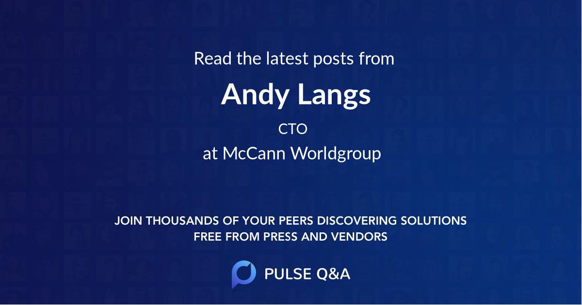Andy Langs