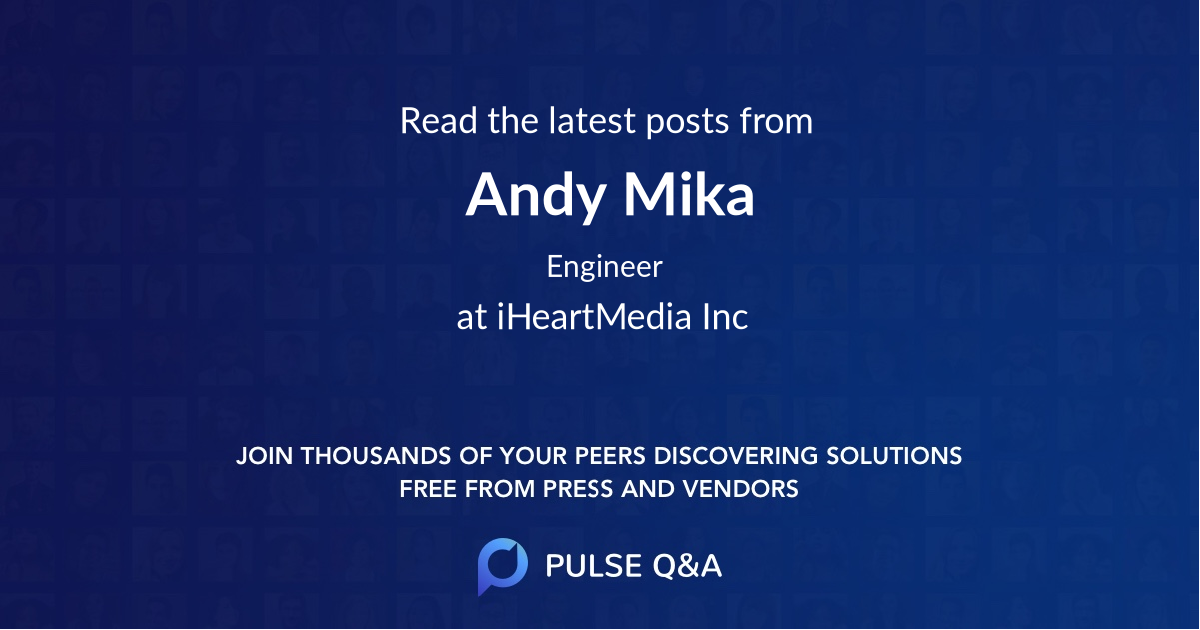 Andy Mika
