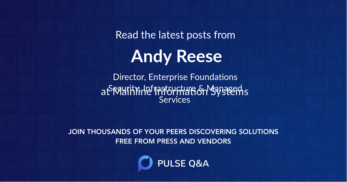 Andy Reese