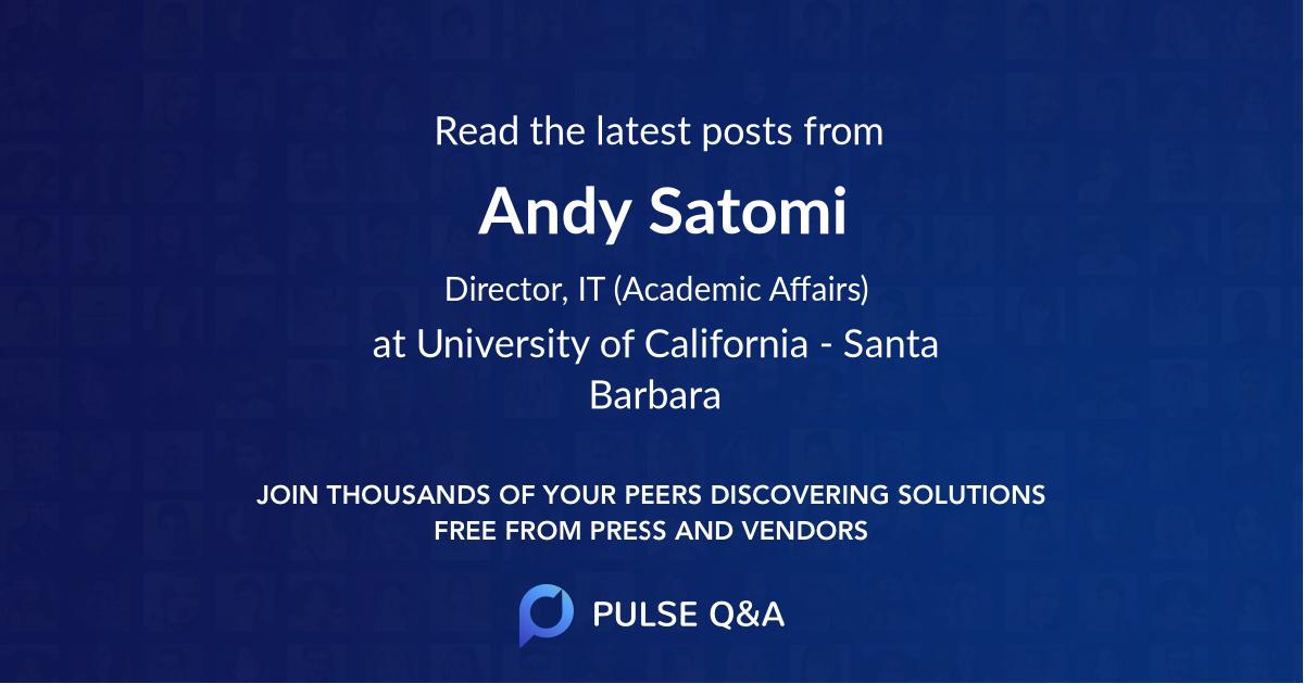 Andy Satomi