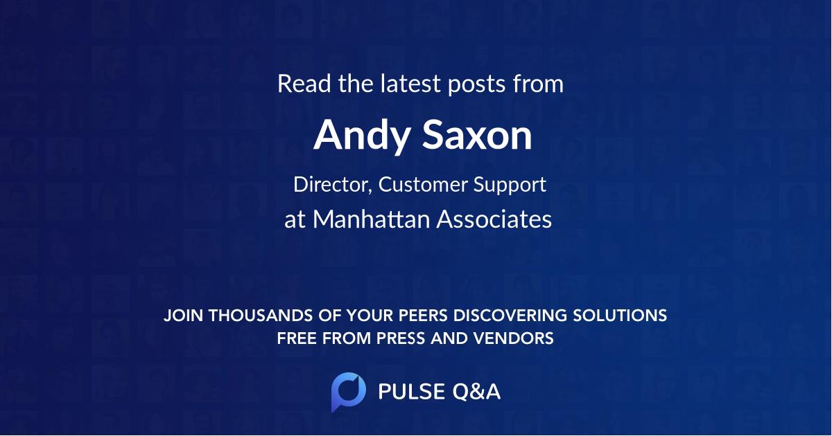 Andy Saxon