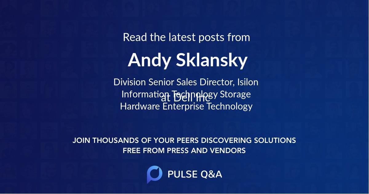 Andy Sklansky