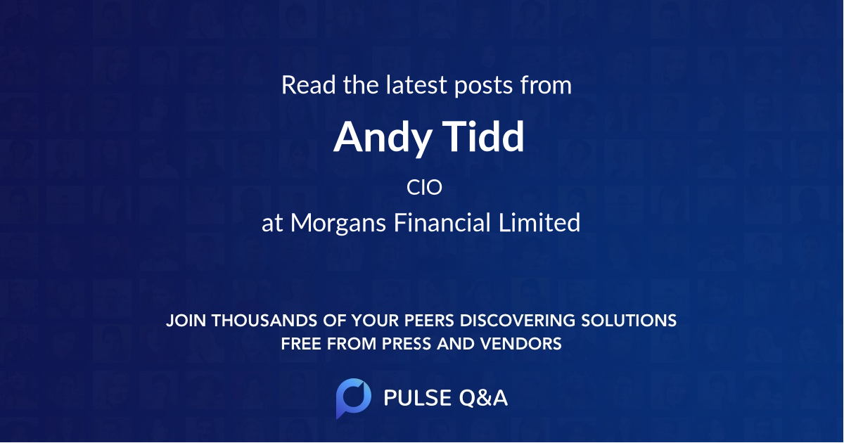 Andy Tidd