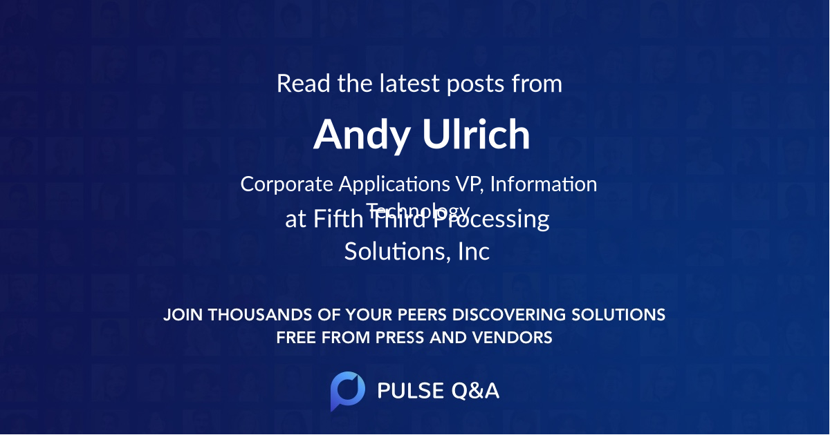 Andy Ulrich
