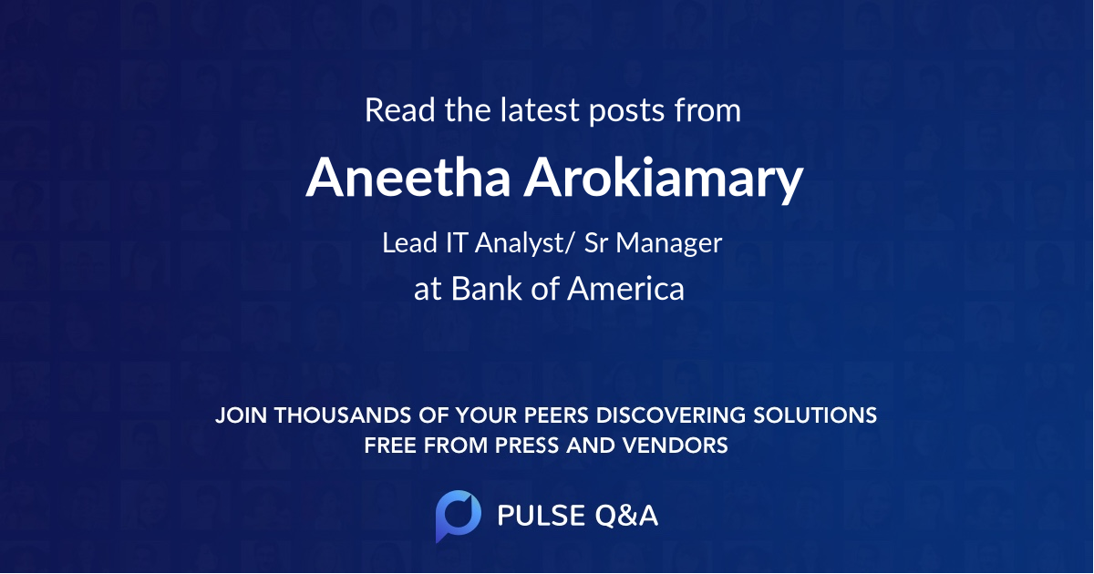 Aneetha Arokiamary